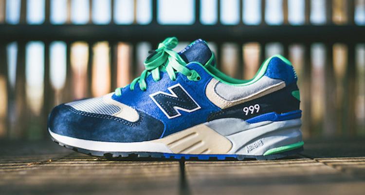 New Balance 999 Navy/Royal-Green