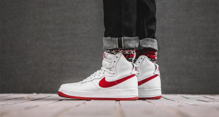 Nike Air Force 1 High Nai Ke On Foot Preview Nice Kicks
