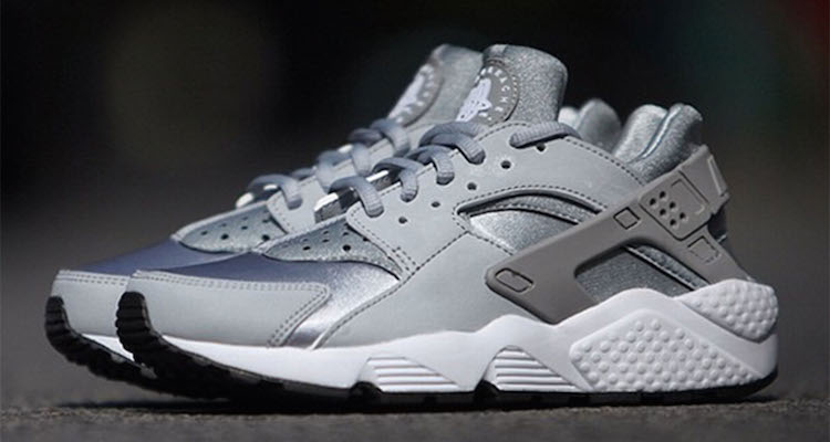 nike air huarache womens grey