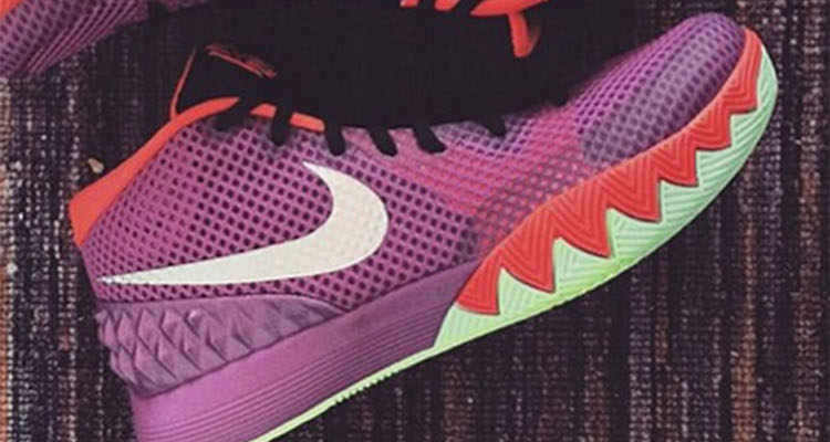 Nike Kyrie 1 Purple/Orange-Black