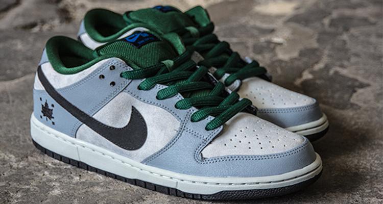Nike SB Dunk Low Pro Gorge Green/Dove Grey
