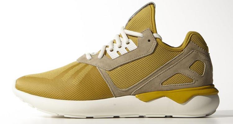 adidas tubular runner yellow