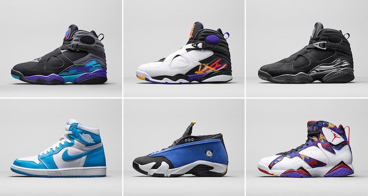 Jordan Brand Holiday 2015 Retro Lineup