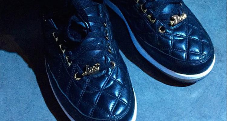 Just Don x Air Jordan 2 Black/Gold Sample