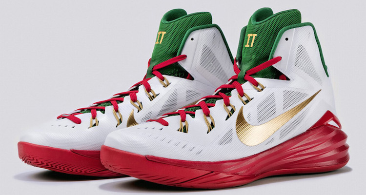 Marco Belinelli's Nike Hyperdunk 2014 PE for the 3PT Contest