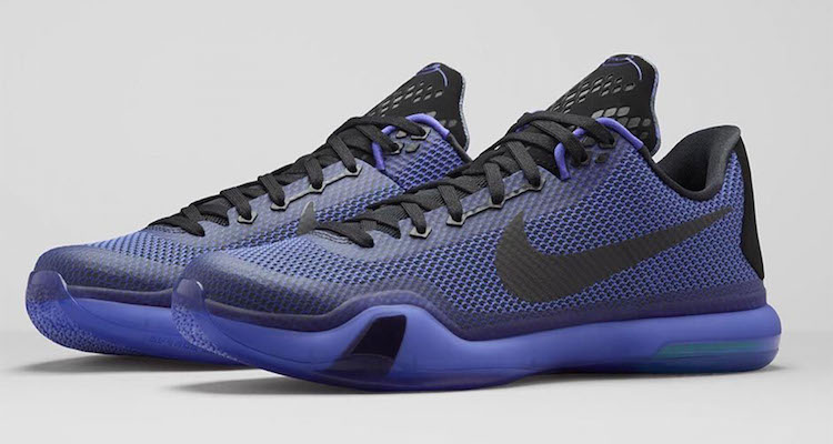 Nike Kobe X Blackout Official Images