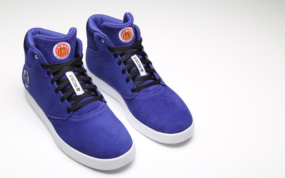 online store da7dc b5948 purple derrick rose shoes
