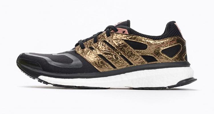 adidas energy boost black gold