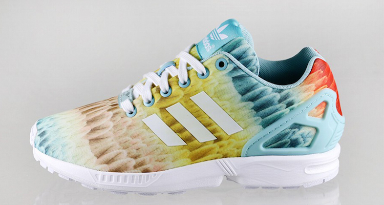 adidas ZX Flux Tropical Feather Available Now