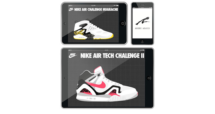 Mis Zapas Chronicles the Entire Andre Agassi Shoe Timeline With New eBook