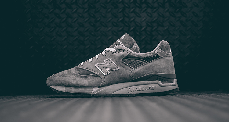 New Balance 998 Light Grey