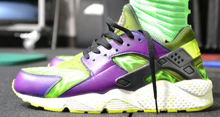 Nike Air Huarache Bruce Bannerache Customs