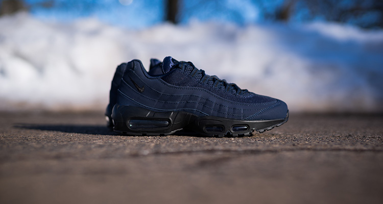 finest selection 11f1f bf1ae nike air max 95 all blue