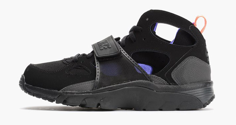 Nike Air Trainer Huarache Black/Violet-Orange Available Now   Nice ...