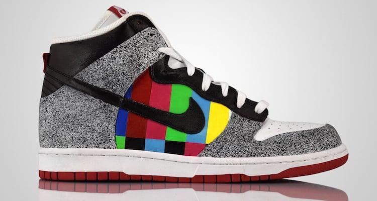 Nike SB Dunk High Channel Zero Customs
