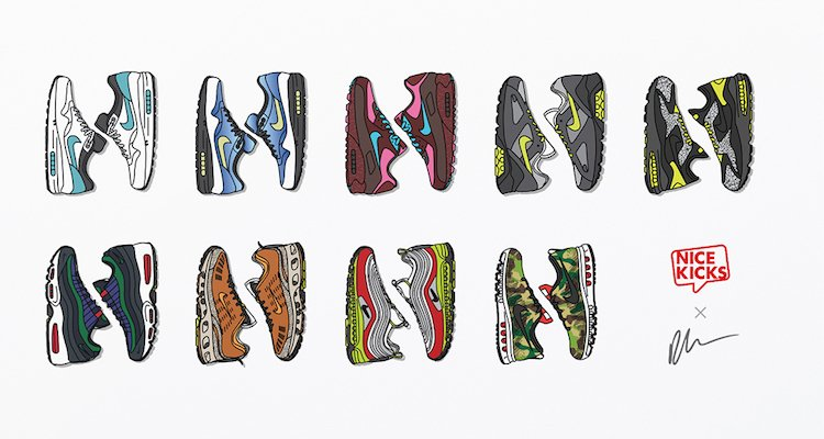 What If Nike Mixed and Matched Colorways and Silhouettes for Air Max Day