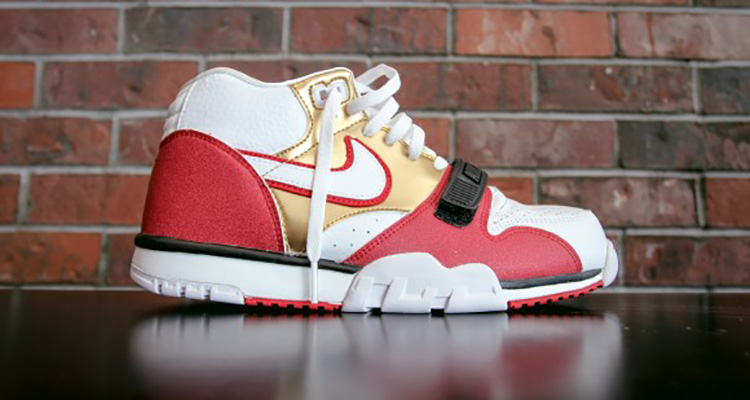 5150439ad258 nike air trainer 1 mid premium jerry rice From Air Jordan ...