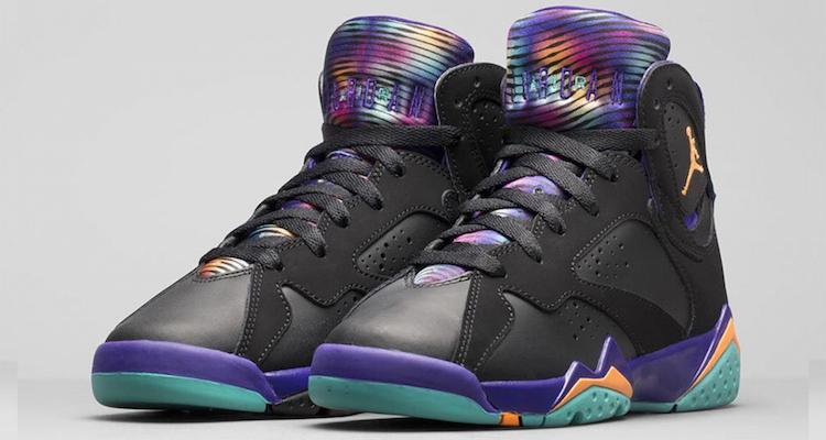 Air Jordan 7 Gs Tribunal Purples