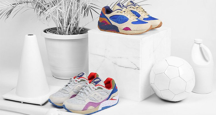 Bodega x Saucony Elite G9 Shadow 6 Pattern Recognition Pack Release Date