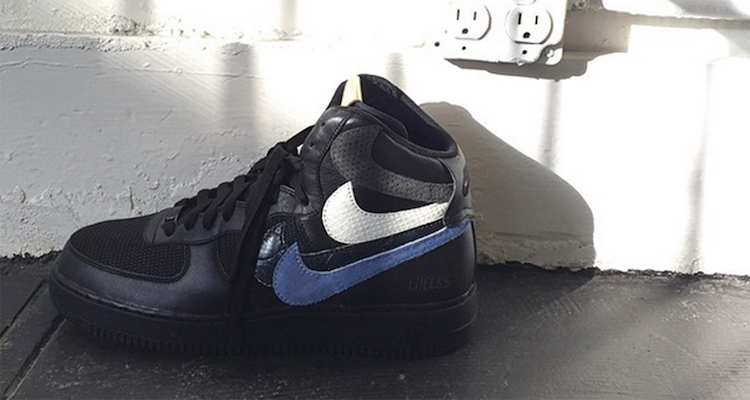 John Geiger Previews new Nike Air Force 1 High Misplaced Checks Custom