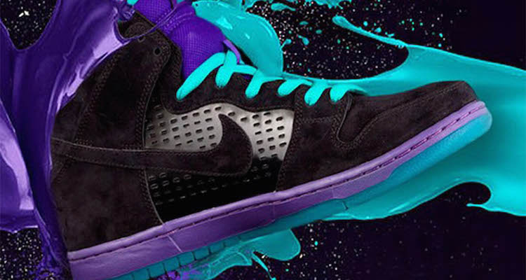 Looks Like a Grape-Inspired Nike SB Dunk High Is on the way