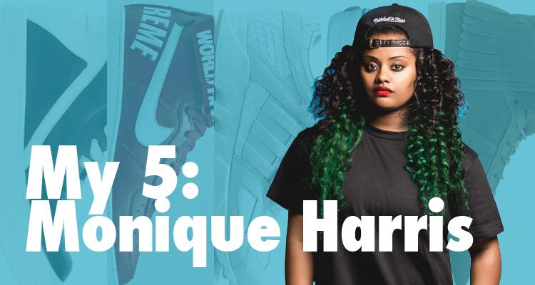 My 5: Monique Harris' Sneaker Rotation