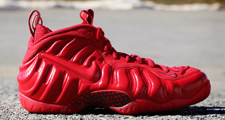 nike foamposite pro gym red for sale