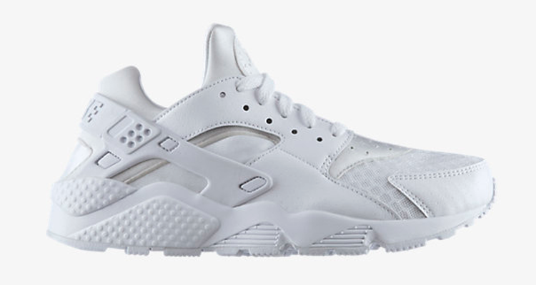 The All White Nike Air Huarache is Available Now