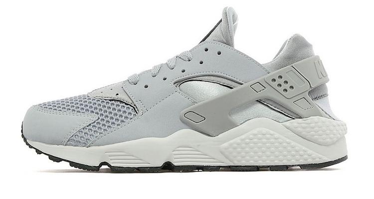 Nike Air Huarache Wolf Grey/Pure Platinum JD Sports Exclusive