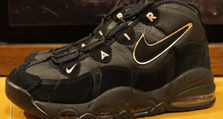 The Nike Air Max Uptempo is Back in Black Nice Kicks ...