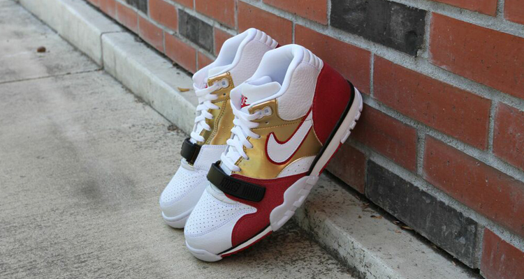 """Nike Honors Jerry Rice's Roots with the """"Brick Layer"""" Air Trainer 1"""