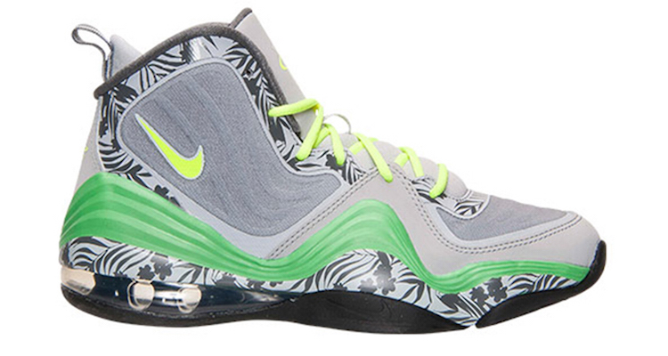 release date: ea482 1a4a8 ... nike air penny v gs wolf grey volt light green spark available now ...