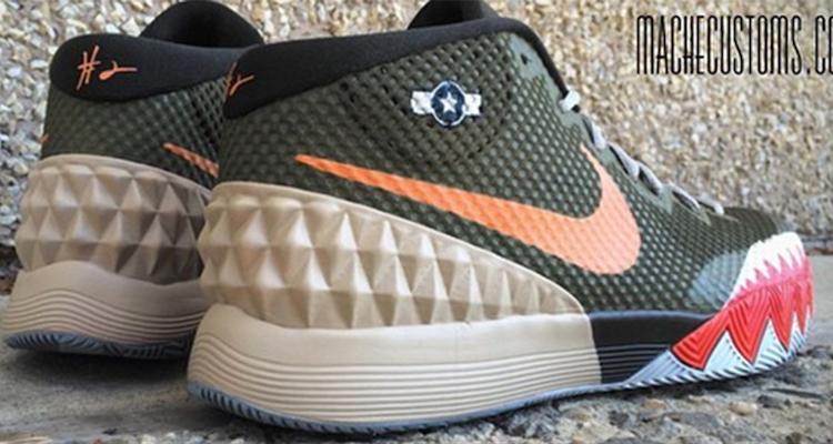 Nike Kyrie 1 Warhawk Custom by Mache Customs