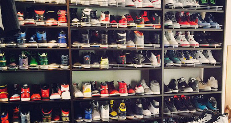 Ray Allen Shares a Look Inside his Sneaker Closet