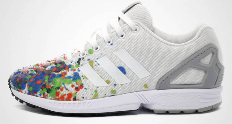 The adidas ZX Flux Splattered Toe Is Dropping Next Month