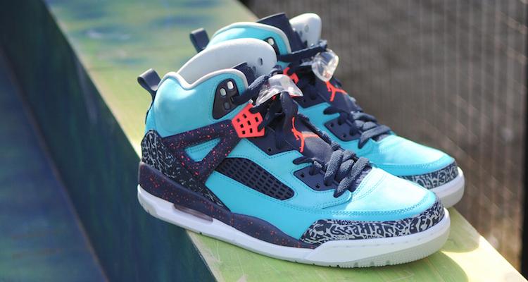 The Jordan Spiz'ike Turquoise Blue Is Releasing This Week