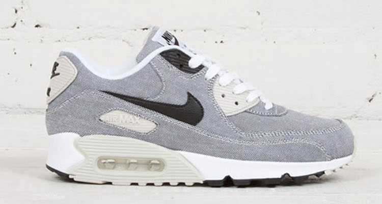 Bonne texture nike air max 90 premium noir blanc 2TH95