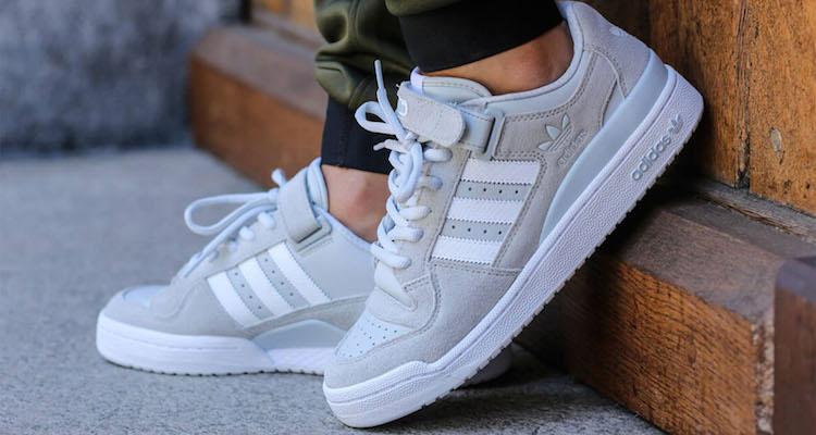 adidas Forum Lo Cool Grey/Footwear