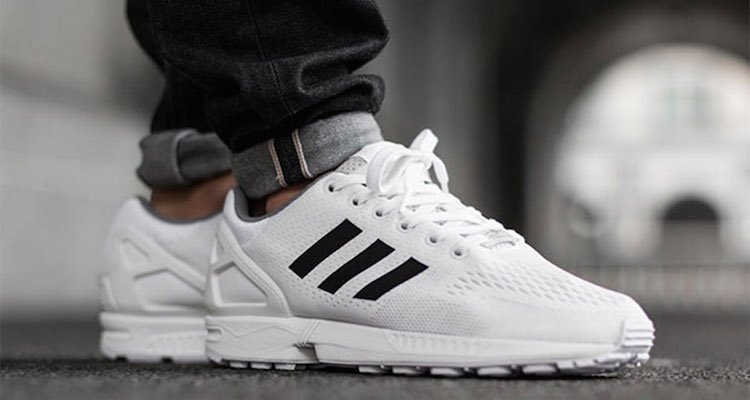 adidas ZX Flux Footwear White/Core Black Available Now