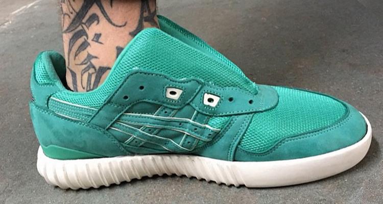 ASICS Gel Lyte III x adidas Yeezy Boost Mint Custom by The Shoe Surgeon
