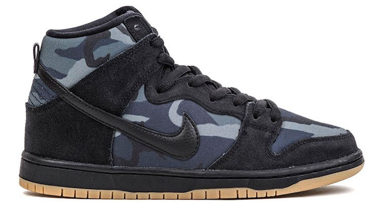 Get Up Close With the Nike SB Dunk High Obsidian Camo