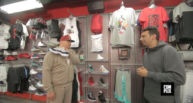 Joe La Puma Goes Sneaker Shopping with Fat Joe