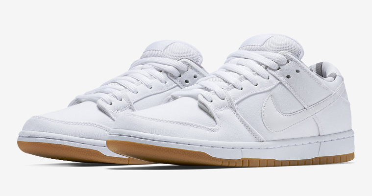 Nike Dunk Low Pro SB White/Gum For Sale