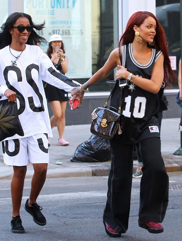 Rihanna in the Rihanna x PUMA Creepers
