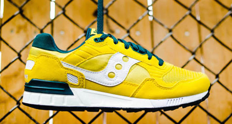 Saucony Shadow 5000 Yellow/White-Green Available Now