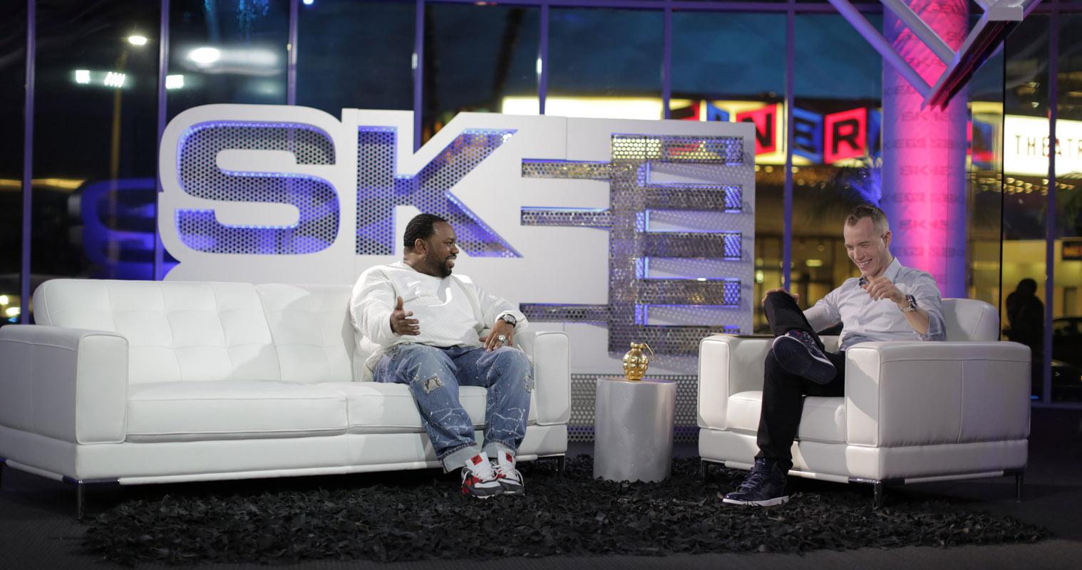 Raekwon and DJ SKEE on SKEE TV