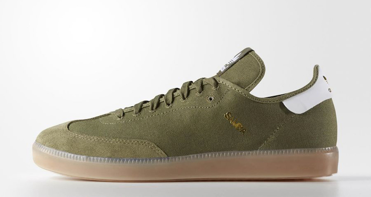 The adidas Samba Modern Classic Olive Cargo Is Available Now