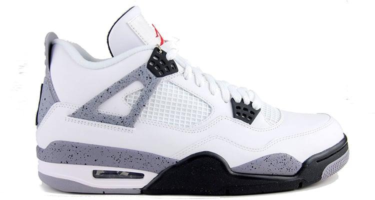 Air Jordan 4 Ciment Blanc 2015