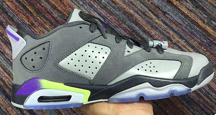 Gray Purple Neon Jordans  4273ff90d