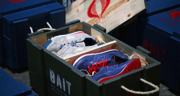BAIT x G.I. Joe x New Balance In-store and Online Giveaway